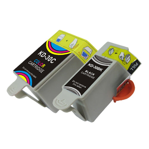 COMPATIBLE -  High Capacity Black, Color (Bulk Package-5 pcs Black, 3 pcs Color) Inkjet Cartridges - Combo,