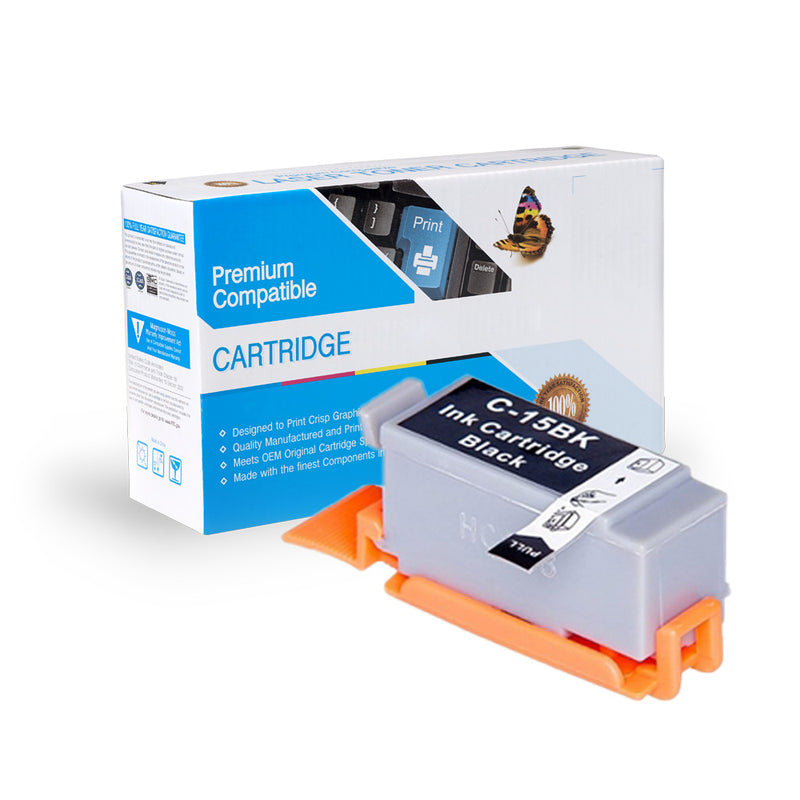 Compatible Canon BCI-15B Ink Cartridge By Express Toner