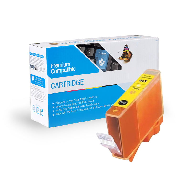 Compatible Canon BCI-3eY Ink Cartridge By Express Toner