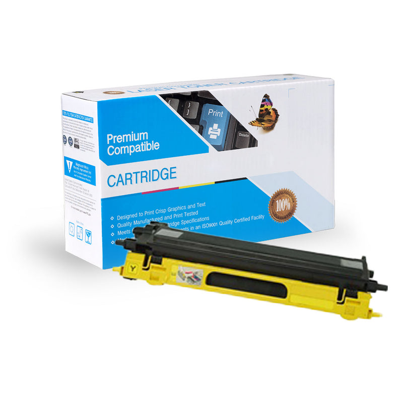 Remanufactured Brother TN115Y Toner Cartridge By Express Toner