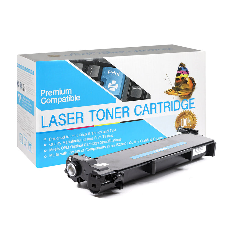 Compatible Brother TN660 High Yield Black Toner Cartridge By Express Toner