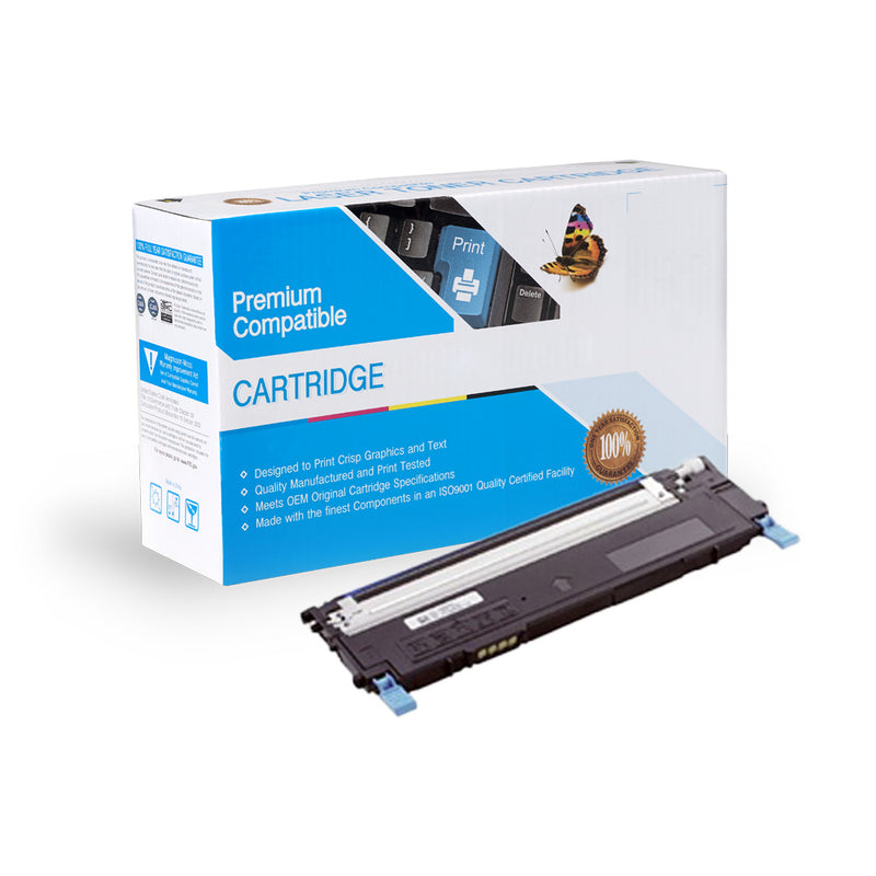 Compatible Dell 1230 / 1235 Cyan Toner Cartridge By Express Toner