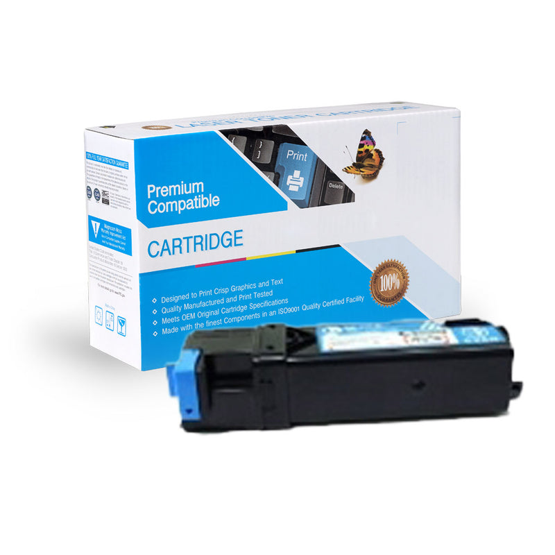 Compatible Dell 1320c Cyan Toner Cartridge By Express Toner
