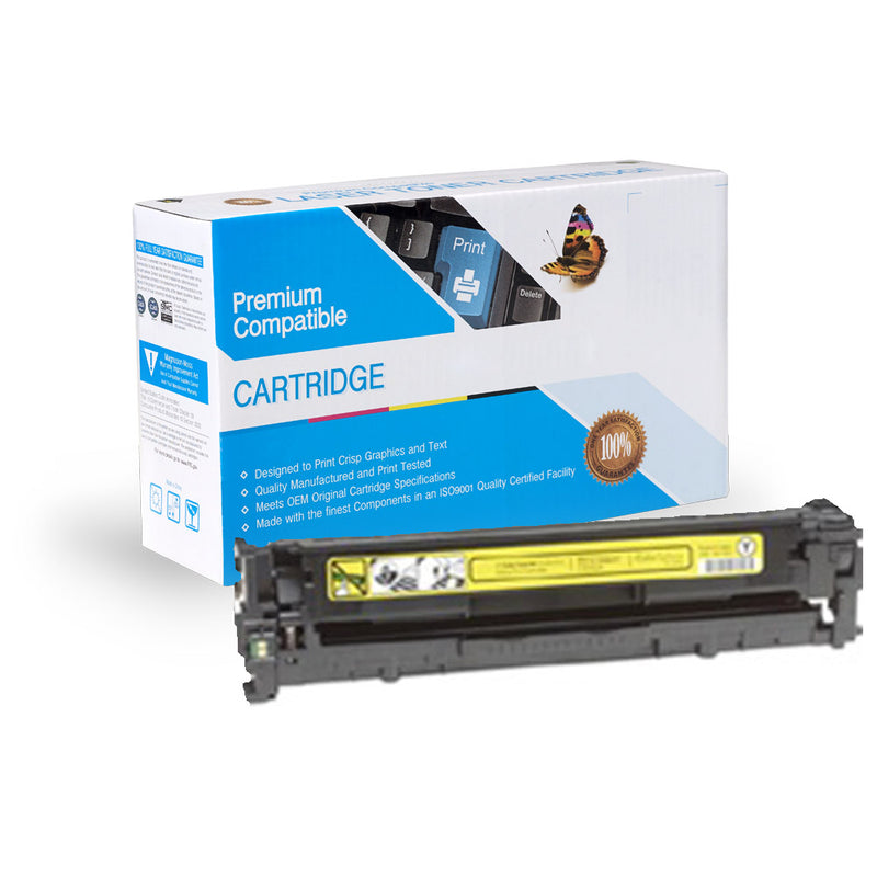 Remanufactured HP CB542A / Canon 116 Yellow Toner Cartridge By Express Toner