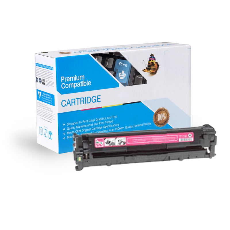 Remanufactured HP CB543A / Canon 116 Magenta Toner Cartridge By Express Toner