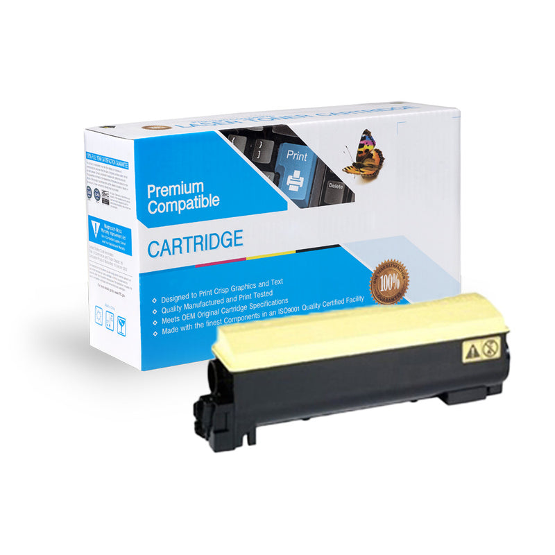 Compatible Kyocera Mita TK-582Y Yellow Toner Cartridge By Express Toner