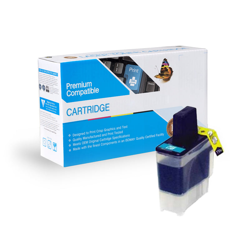 Compatible Brother LC41C Ink Cartridge By Express Toner
