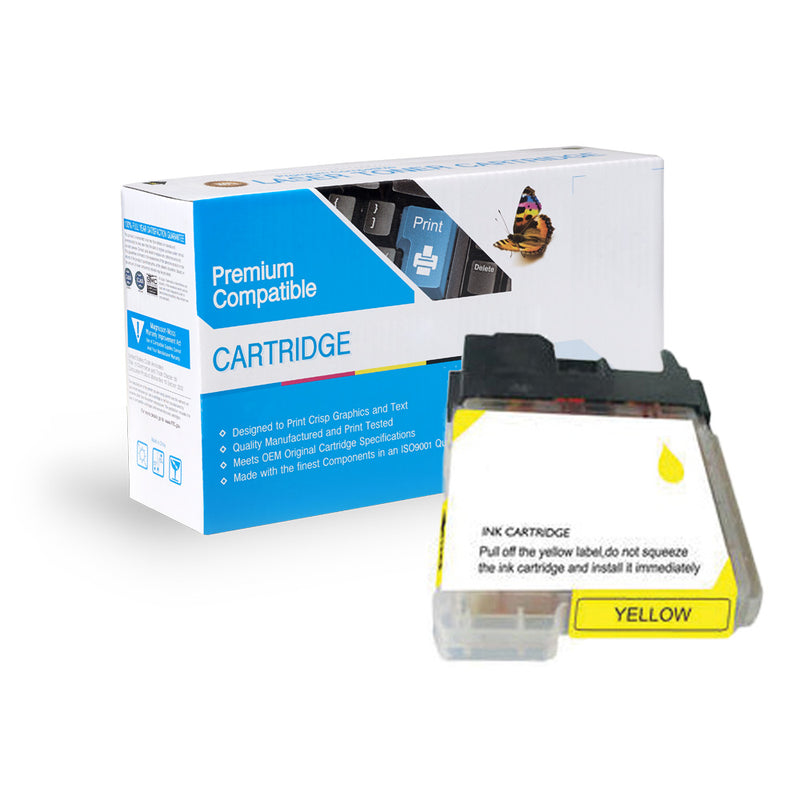 Compatible Brother LC61Y Ink Cartridge By Express Toner