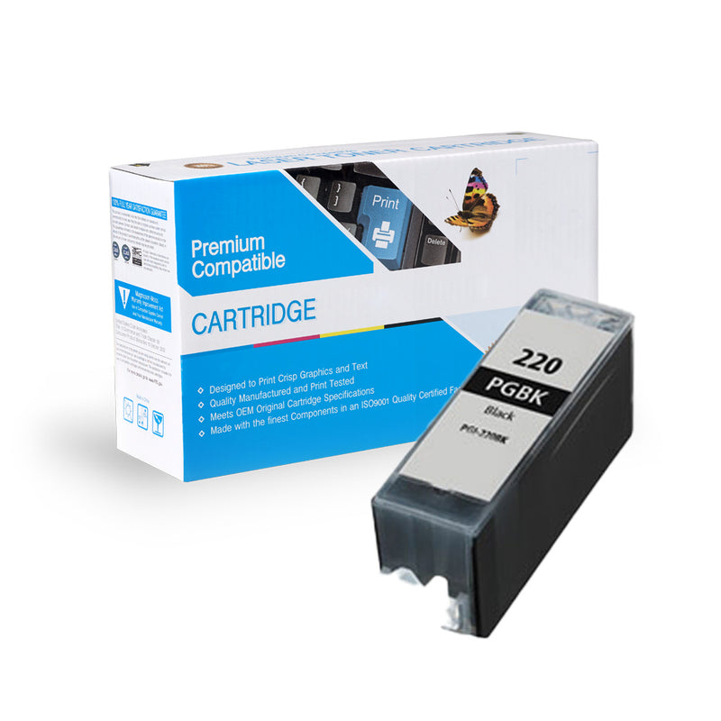 Compatible Canon PGI-220BK Ink Cartridge By Express Toner