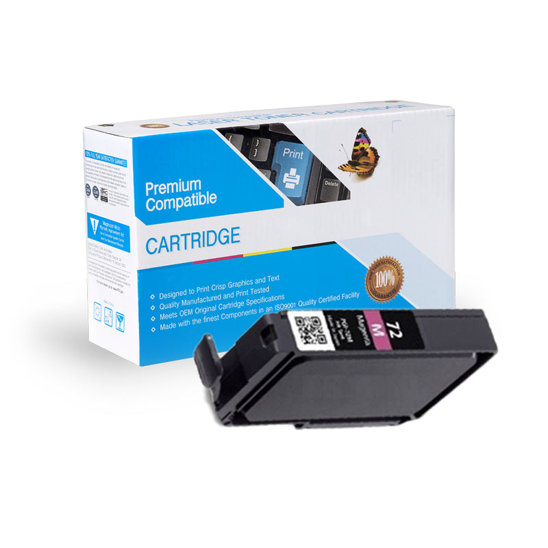 Compatible Canon PGI-72M Magenta Ink Cartridge By Express Toner