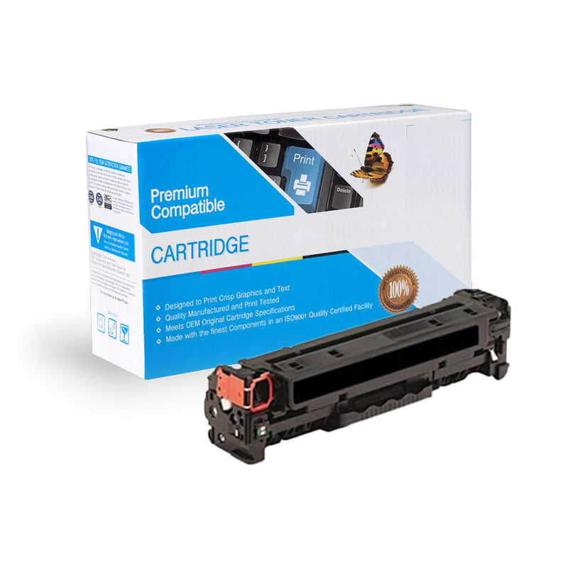 Remanufactured HP CF380A (HP 312A) Black Toner Cartridge By Express Toner