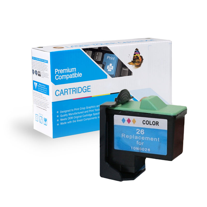 Remanufactured Lexmark 10N0026 Ink Cartridge By Express Toner