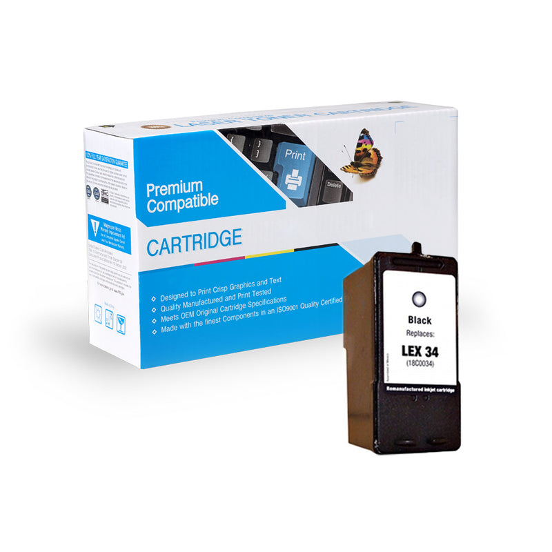 Remanufactured Lexmark 18C0034 Ink Cartridge By Express Toner