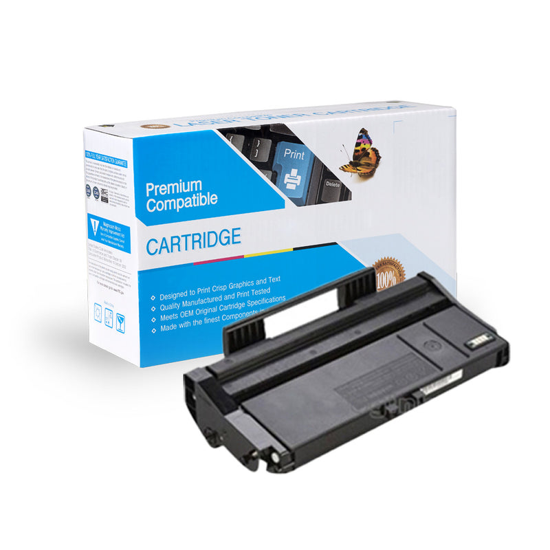 Compatible Ricoh 407165 (Type SP100LA) Black Toner Cartridge By Express Toner