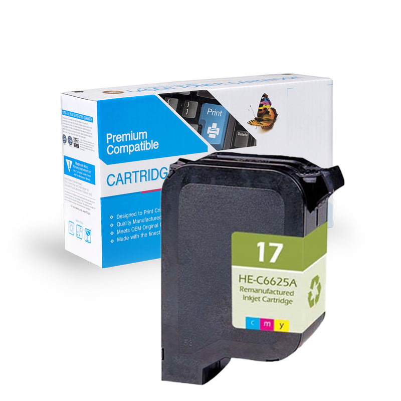 Remanufactured HP C6625A (HP 17) Ink Cartridge By Express Toner