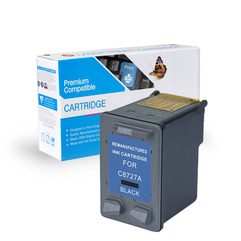 Remanufactured HP C8727A (HP 27) Ink Cartridge By Express Toner