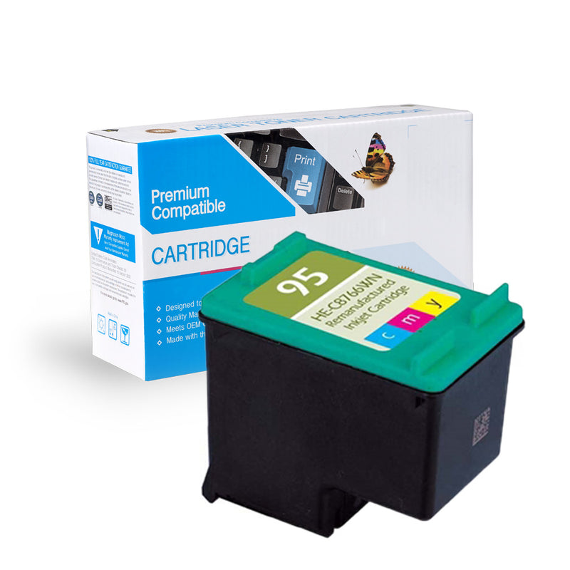 Remanufactured HP C8766W (HP 95) Ink Cartridge By Express Toner