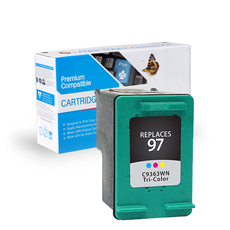 Remanufactured HP C9363W (HP 97) Ink Cartridge By Express Toner