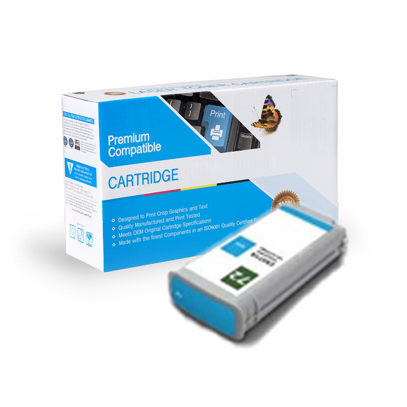Remanufactured HP C9371A (HP 72) Ink Cartridge By Express Toner