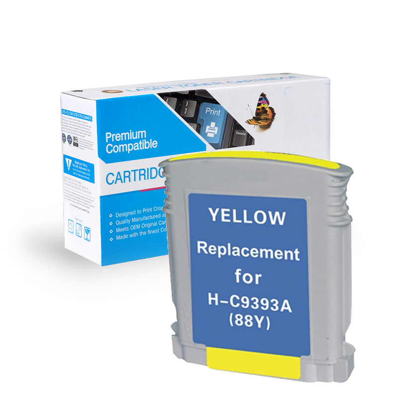 Remanufactured HP C9393WN (HP 88XL) Ink Cartridge By Express Toner