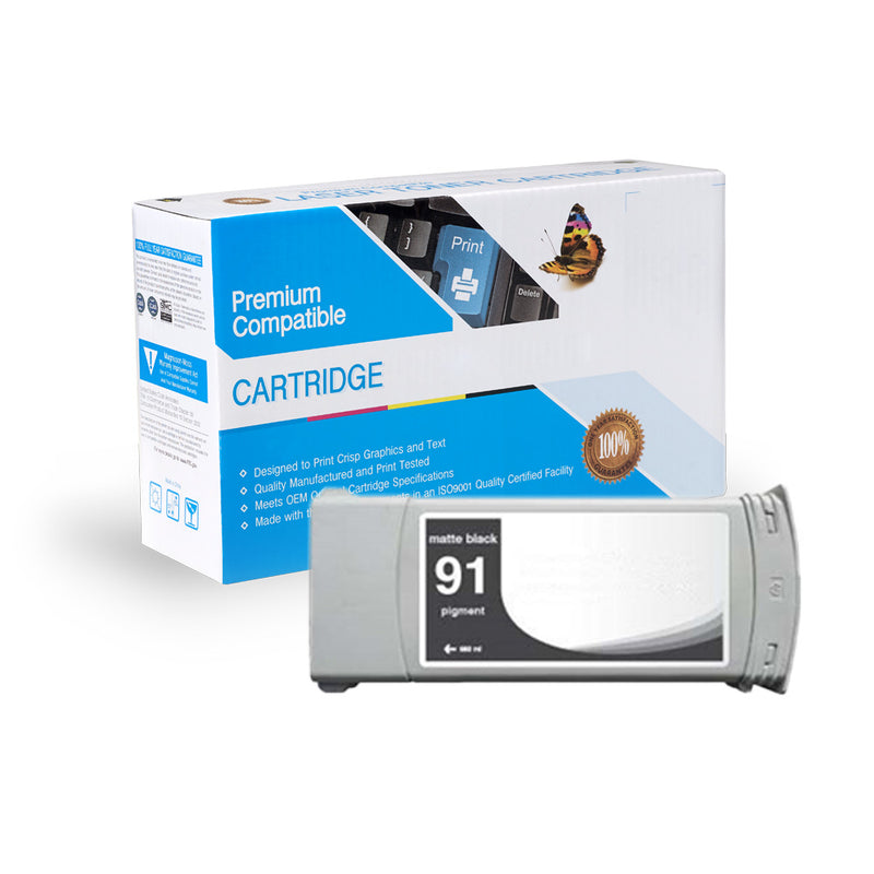 Remanufactured HP C9464A (HP 91) Ink Cartridge By Express Toner