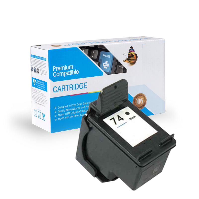Remanufactured HP CB335WN (HP 74) Ink Cartridge By Express Toner