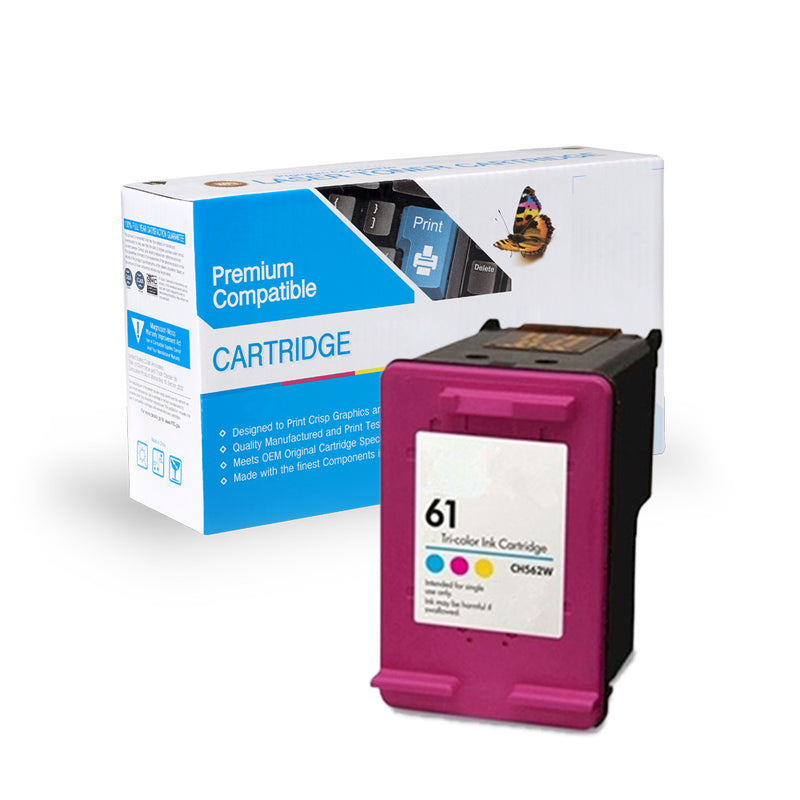 Remanufactured HP CH562WN (HP 61) Ink Cartridge By Express Toner