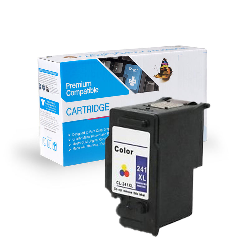 Remanufactured Canon CL-241XL Color Ink Cartridge By Express Toner