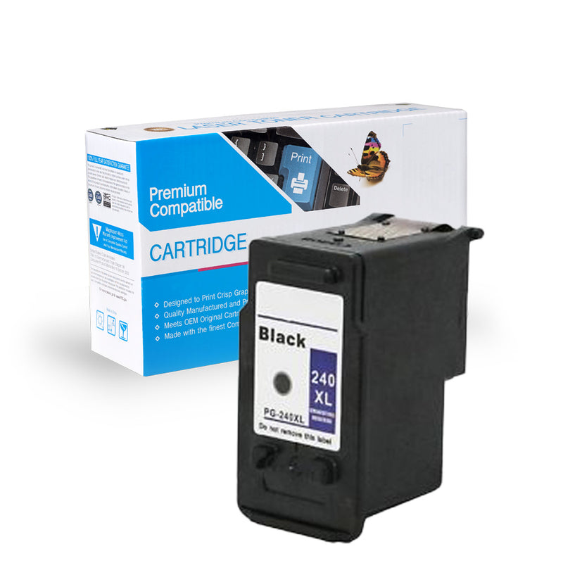 Remanufactured Canon PG-240XL Black Ink Cartridge By Express Toner