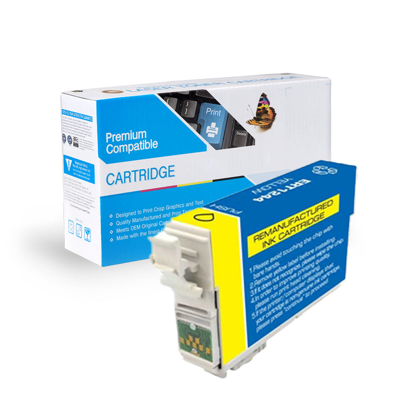 Remanufactured Epson T124420 Ink Cartridge By Express Toner