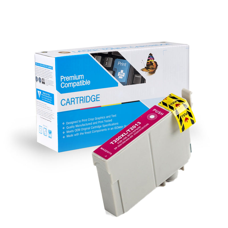 Remanufactured Epson T200XL320 High Yield Magenta Ink Cartridge By Express Toner