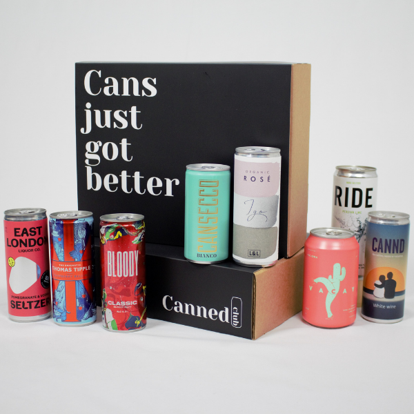 Canned Club December box - a look at our first festive selection