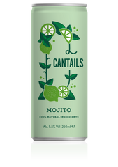 Cantails mojito canned cocktail