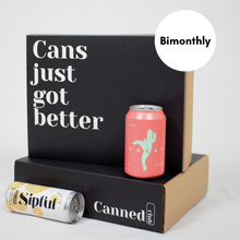 Load image into Gallery viewer, Canned Club subscription box bimonthly