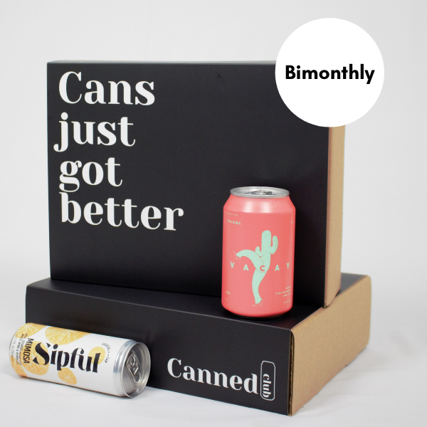 Canned Club subscription box bimonthly