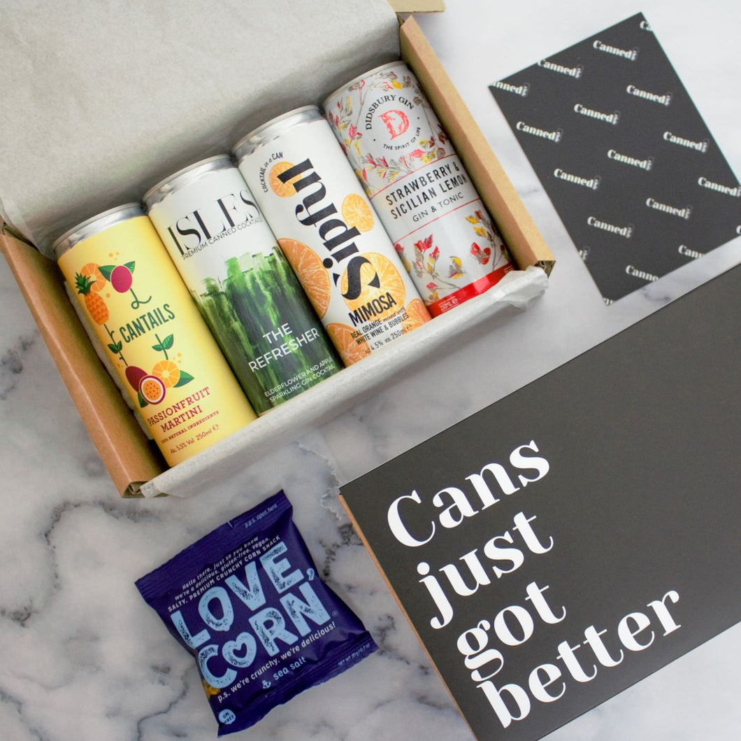 Canned Club - Cocktail Lovers Box