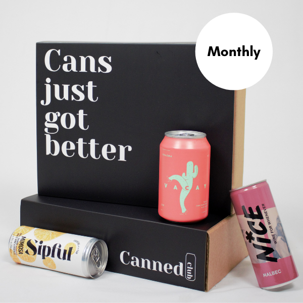 Canned Club subscription box monthly
