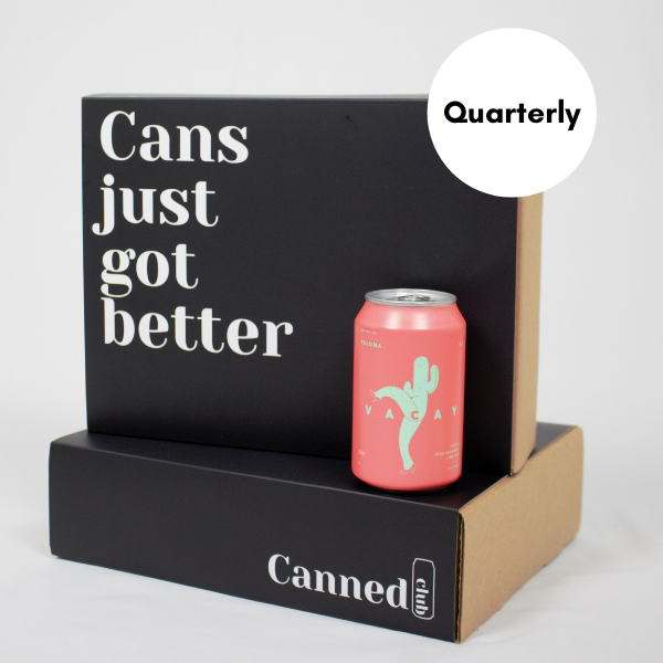 Canned Club subscription box quarterly