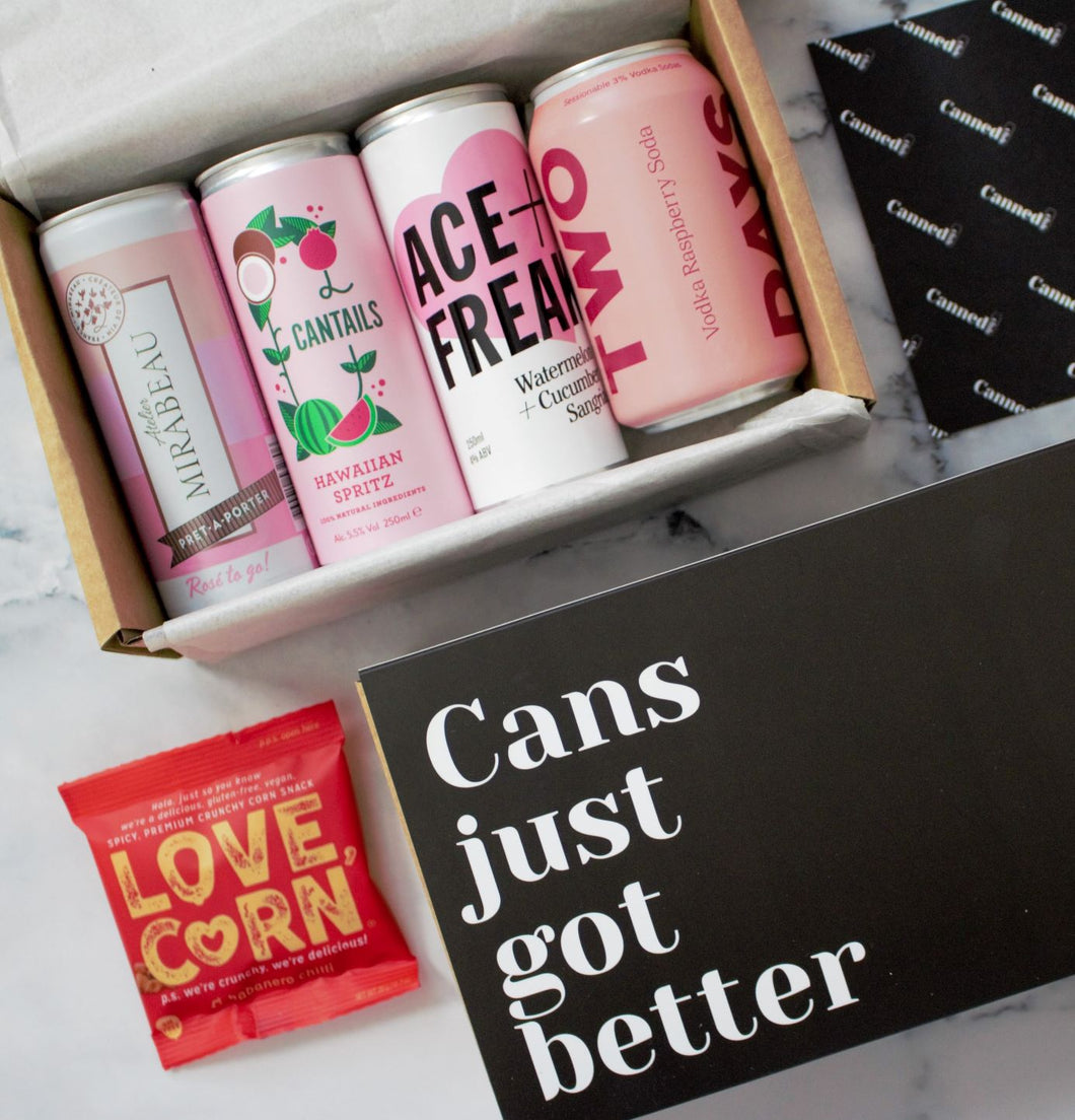 Canned Club - Limited Edition Pink Box