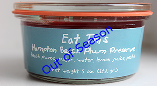 Hampton Beach Plum Preserve