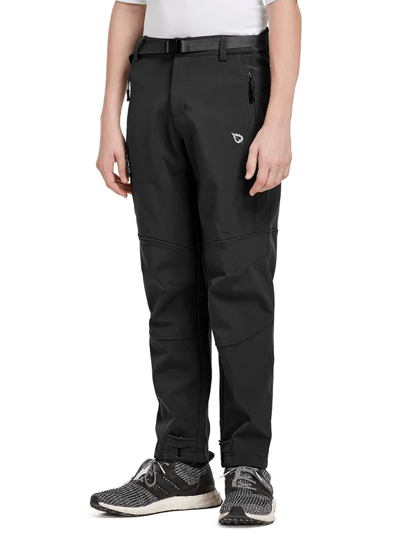 boy's fleece wind & water-resistant multi pocketed ski pants age group kids Clothing baleaf