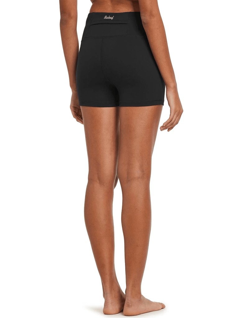 "female 3"" high-rise seamless compression workout & yoga shorts age group adult Clothing baleaf"