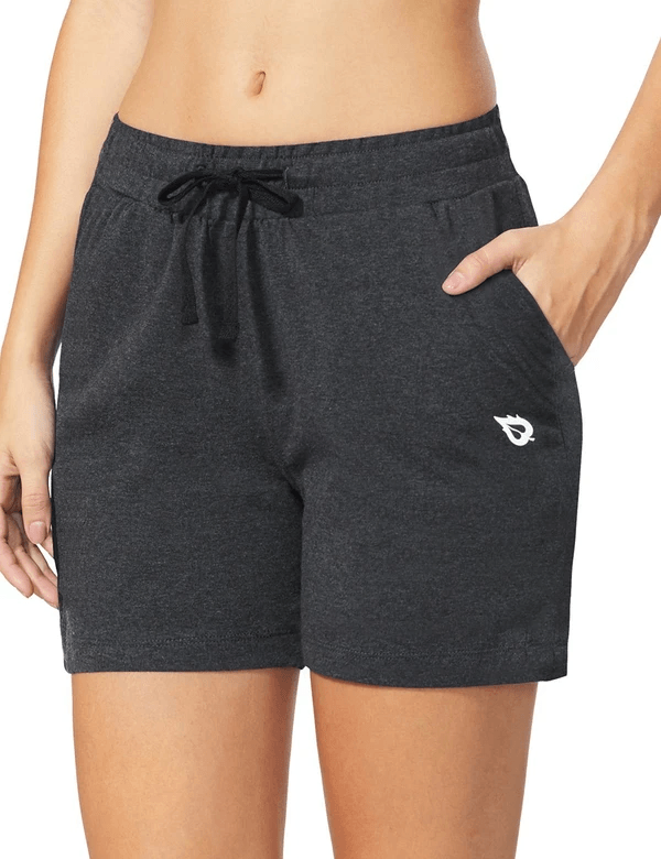 female 5'' activewear cotton pocketed jogger & weekend shorts age group adult Clothing baleaf