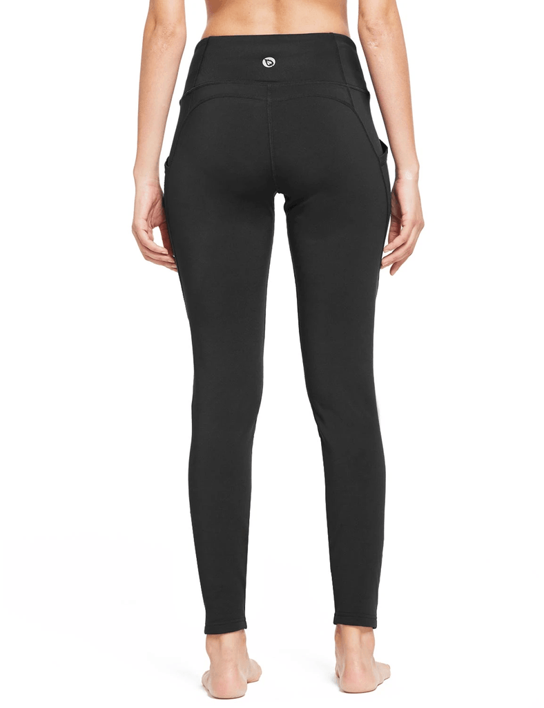 female thermal high rise fleece lined contour leggings age group adult Clothing baleaf