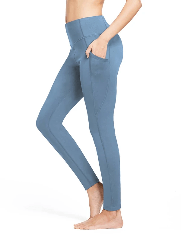 female thermal high rise fleece lined contour leggings age group adult Clothing baleaf Niagara XS