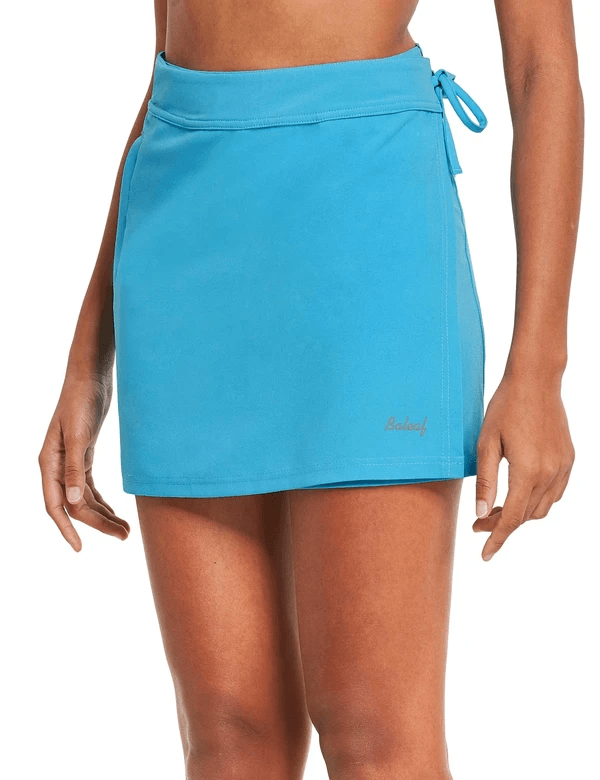 female upf 50+ sun protective pocketed beach cover up skirt age group adult Clothing Lightones