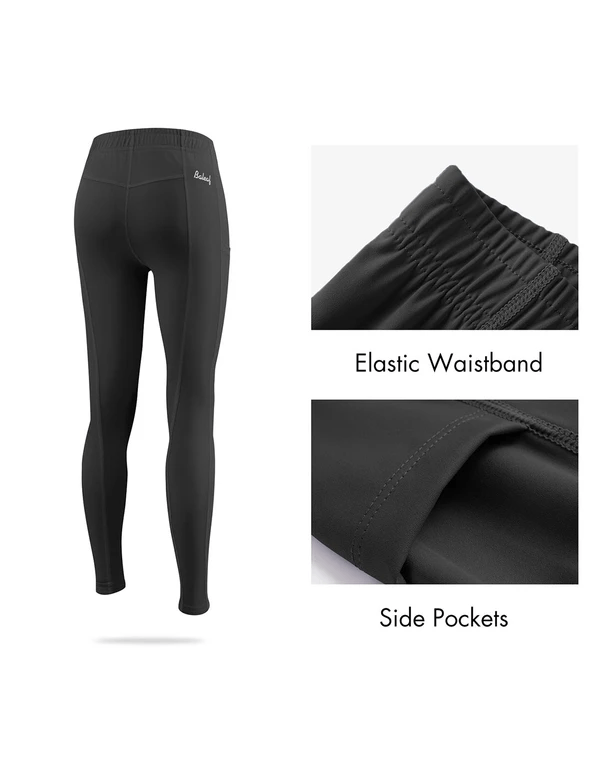 kid's upf 50+ elastic waistband knee patch pocketed riding tights age group kids Clothing baleaf