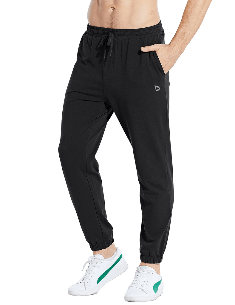 male basic comfy loose fit pocketed sweatpants age group adult Clothing baleaf