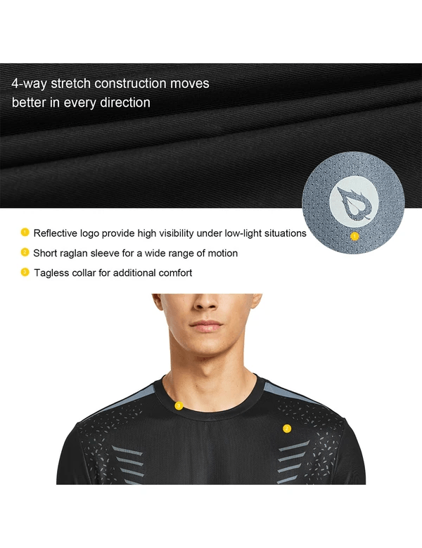 male evo digital printed quick dry workout t shirt age group adult Clothing baleaf