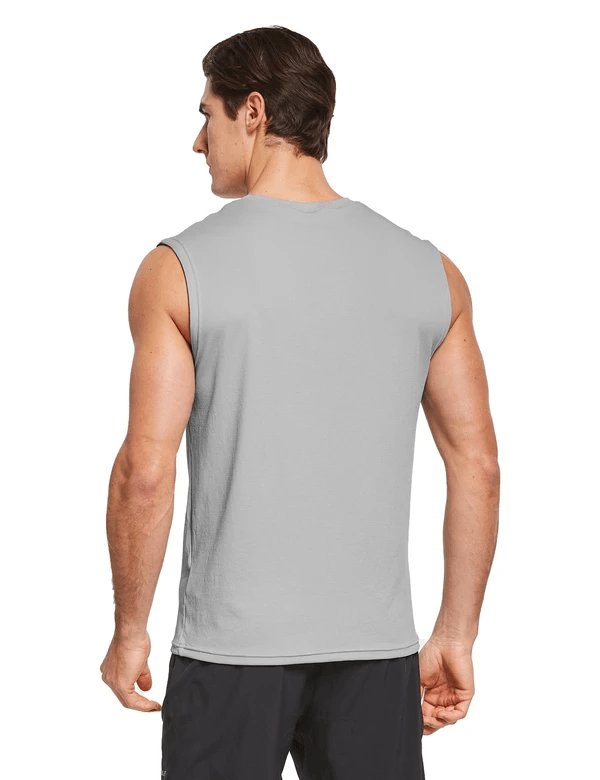 male quick dry loose fit workout & gym tank top age group adult Clothing baleaf